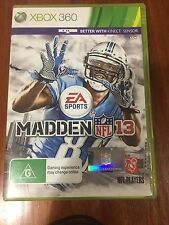 Madden NFL 13 - XBOX 360 Game - VG Condition