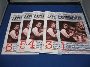 The Impoverished Radio Experimenter Series Vol. 1, 3, 4, 5, 6 Lindsay Books NEW