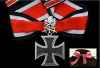 WWII German Knights Cross of the Iron Cross with oak leaves swords Gift box