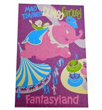 Authentic Disneyland Fantasyland Attractions Poster 12x18 Acid/Lignin Free Paper