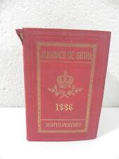 ALMANACH DE GOTHA 1888 JULIUS PERTHES Annuaire genealogique diplomatique