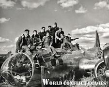 USAAF WW2 B-17 Bomber Crash Landing 8x10 Photo 384th BG Grafton Underwood WWII