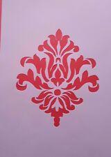 1349 Schablonen Ornamente Wandtattoo Vintage Stanzschablonen Shabby Stencil Foto