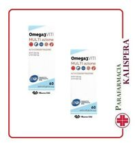 2 MASSIGEN OMEGA 3 CON EPA e DHA 60 PERLE DA 1,32g COLESTEROLO TRIGLICERIDI ALTI