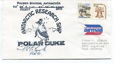 Antarctica Research Ship Polar Duke Deep Freeze Palmer Station Cover SIGNED