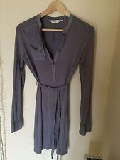 Topshop Viscose V-Neck Long Sleeve Dresses for Women