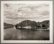 BONNIERE,16X20 SILVER GELATIN PHOTOGRAPH,S/N, DIAMOND LAKE  SHORE, CANADA