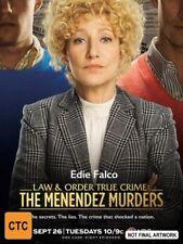 Law & Order True Crimes Menendez Murders DVD NEW Region 4 Edie Falco