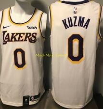 KYLE KUZMA Los Angeles LA LAKERS Nike WISH White ICON Swingman Jersey Size XL 52
