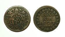 pcc1583_25) BOLOGNA  Pio VI (1775-1799) - Quattrino 1779