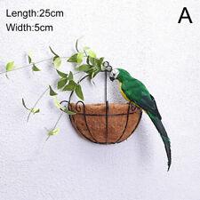 Моделирование попугай дерево поддельные попугай искусственная птица украшение сада украшения 1PC