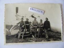 PHOTO ORIGINALE AVION CHASSEUR  DEWOITINE GC 510 1936 AVIATION HISPANO ARMEE AIR