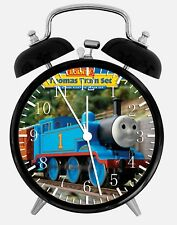 "Thomas Train Alarm Desk Clock 3.75"" Home or Office Decor W68 Nice For Gift"