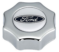 Proform 302-230 Polished Screw-In Oil Fill Cap - Ford Logo - 5.0L/302 Ford