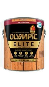 Olympic Elite Wood Stain Semi-Transparent / Semi-Solid Stain And Sealant