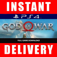 God of War PS4 - Full Game Key - PlayStation 4 (US Only) - Instant Dispatch 24/7