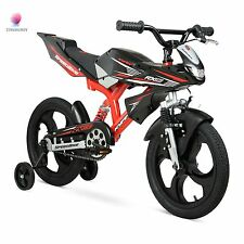 "Kids Bike 16"" Speed Motorcycle Boys Girls Child Children Toddler Dirt Bicycle"