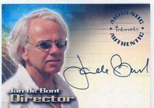 Tomb Raider The Cradle Of Life Autograph Card A6 Jan De Bont