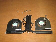 "OEM!! APPLE MACBOOK PRO A1297 2011 17"" RIGHT LEFT FAN HEATSINK 922-9294 922-9295"