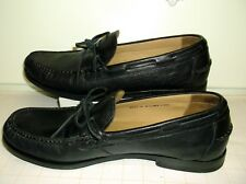 COLE HAAN Black Leather Penny Loafers Slip On Shoes..Size 10 M..Made in India
