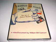 William Bill Clarkson I Gather As Much The Art of Robert Warner DVD 2006 New