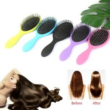 The Brush Pro Wet Hair Detangling Styling Shower Brush Home Salon P#jkfs clow_