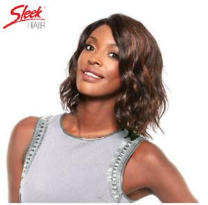 Sleek 100% Human Hair Swiss YAMINA Net Lace Front - Wig UK Free Postage