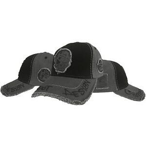 HotSpot Design Cap Forever Angler Kappe schwarz/grau Skull - Gr.uni Schirmmütze