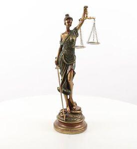 Justitia Justizia Statue  Figur Gerechtigkeit  Skulptur Antik Stil H53 cm M14
