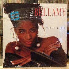 "[EDM]~NM 12""~LISA BELLAMY~Work It~[Italo Club~Jazzy Dub~D.C. Mix~Freestyle Dub]~"