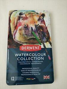 Derwent WATERCOLOUR COLLECTION 12 sealed box