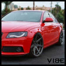 "19"" ROHANA RC7 GRAPHITE CONCAVE WHEELS RIMS FITS AUDI B8 A4 S4"