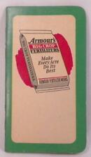 Armour's Big Top Fertilizers Notebook Advertising Premium Paper 1950-1951