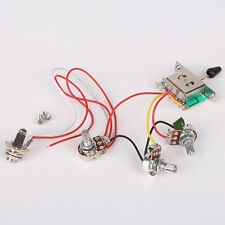 Circuit wiring harness 500k Pots For Electric guitars 3 single pickup