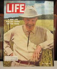 Life Magazine July 7, 1961 Ike Eisenhower Down on The Farm
