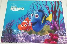 Disney Store Finding Nemo Lithographs Dory Prints 4 Pictures