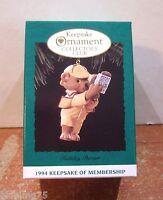 Hallmark Keepsake Ornament 1994 Holiday Pursuit Collector's Club NIB (H15)