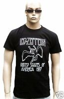 LED ZEPPELIN Bravado Official Merchandise USA Tour 1977 Swan Song T-Shirt M