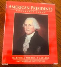 New Smithsonian Institution American Presidents Knowledge Cards. Free Shipping!