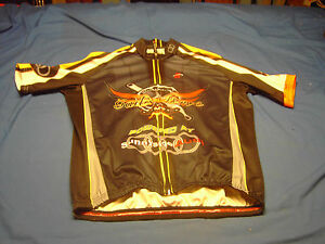 GAIL'S FORCE POWERED BY sunnyside Audi HINCAPIE Cyclist  Jersey Size Large Club