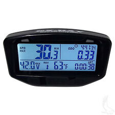 EX-RAY Universal Golf Cart Speedometer Kit With Multi-function