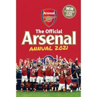Official Arsenal Annual 2021 Children Book Hardback By Josh James -9781913034863