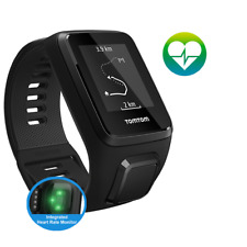 TomTom Spark 3 Cardio - Black - Large - GPS Multisport Fitness Running Watch (U)