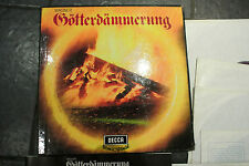 RARE DECCA SonicStage Wagner Gotterdammerung 6 LP COFANETTO