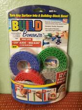 Build Bonanza Block Peel & Stick Tape Works with Lego® and Ontel