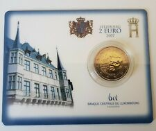 2 Euro Luxemburg 2007 in Coincard - Henris Residenz