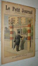 PETIT JOURNAL 07-08 1898 AFFAIRE DREYFUS ZOLA / LA BOURGOGNE / CHASSE CHIENS