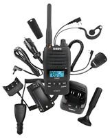 UNIDEN UH850S-DLX DELUXE PACK UHF CB 5 WATT RADIO WATERPROOF HANDHELD FULL KIT