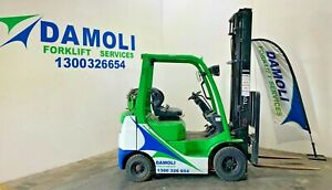 Toyota 1.8 Tonne LPG Forklift - Fully serviced, and ready to go!