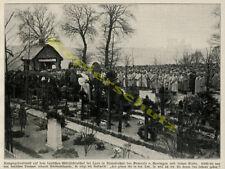 Militärfriedhof Tod Laon Mons-en-Laonnois Holzkapelle General v. Heeringen 1915